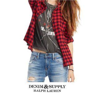 RL Denim & Supply | Buffalo Check Shirt